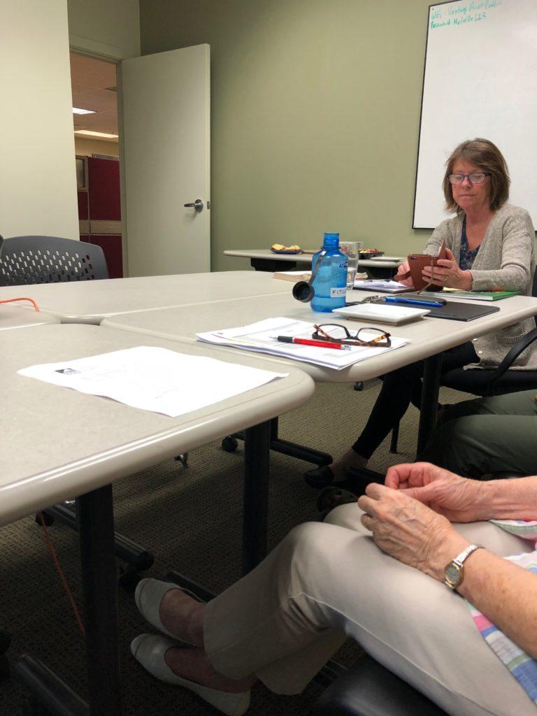 TRAS board meeting